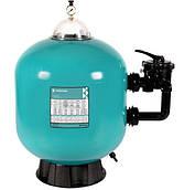 Песочный фильтр для бассейна Pentair TRITON TR 140, 914 мм, 32 м3/час 6-ходовой бок. клапан, 430 кг песок/грав