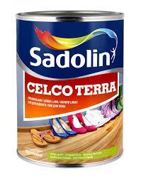 Sadolin CELCO TERRA 10л износостойкий лак для пола Садолин Селко Тера