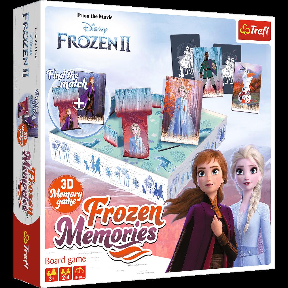 Настольная игра Холодное Сердце 2. Зимние Воспоминания (Frozen II. Frozen Memories)