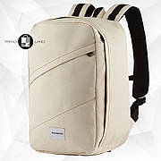 Рюкзак для ручной клади 40х20х25 Wascobags RW Бежевый (Wizz Air / Ryanair)