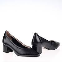Женские натуральные туфли  Fabio Monelli S450-605-Y515AK BLACK KOGA весна 2020