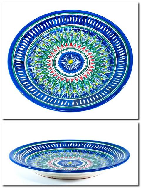 Тарелки узбекские плоские