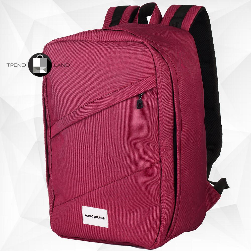 Рюкзак для ручной клади 40х20х25 Wascobags RW Вишневый (Wizz Air / Ryanair)