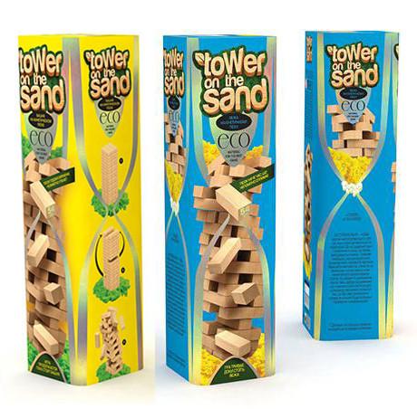 Настольная игра Джанга Башня Danko Toys VEGA TOWER on the SAND