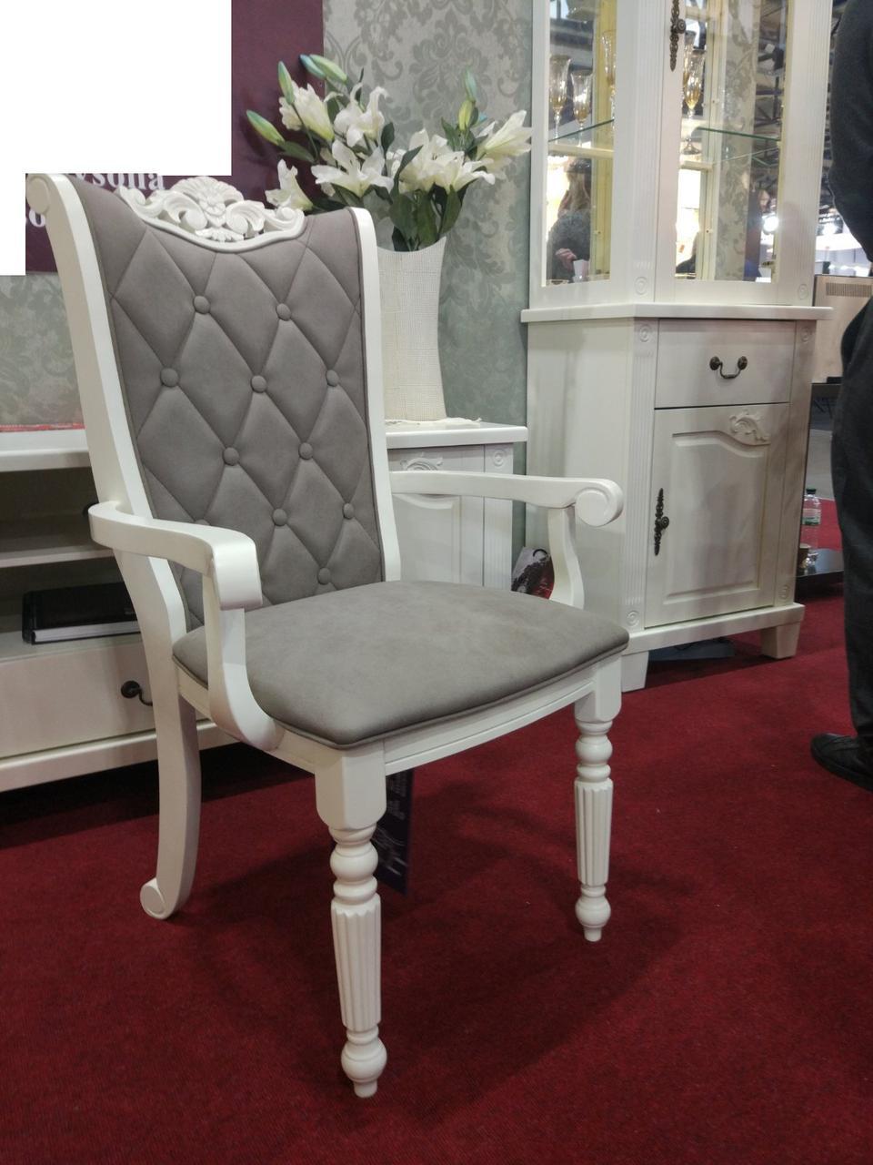 Кресло Кембридж (Белый)