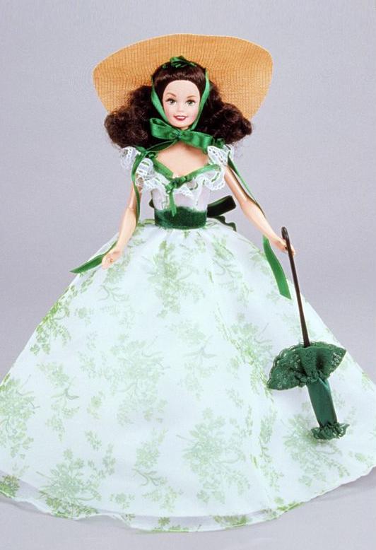 Коллекционная кукла Барби Скарлетт О'Хара Барбекю в поместье 12 дубов