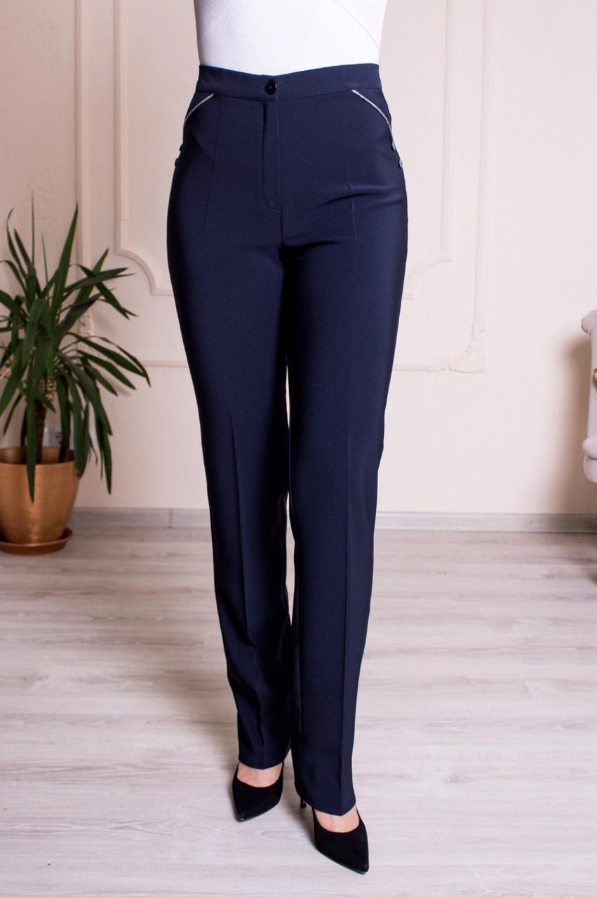 Женские брюки Марина темно-синие