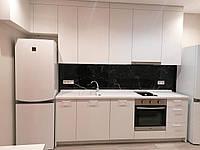 Бюджетная кухня под ключ КТ-32 для смарт-квартир или квартир под сдачу  /  верх 3.1 м, низ 2.4 м