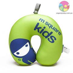 Детская дорожная подушка M Square (салатовый)