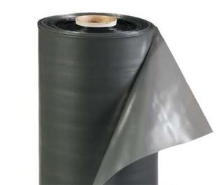 Пленка Черная полиэтиленовая (рукав) 100 мкм 6 метров