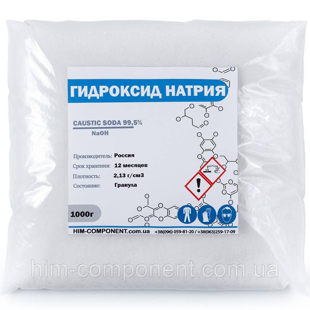 Каустическая сода гранула 1 кг (Россия)