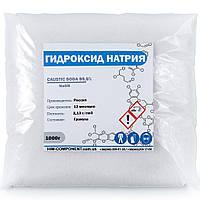 Каустическая сода гранула 1 кг (Россия), фото 1