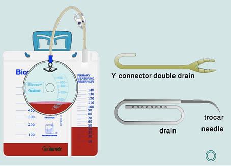 Аспирационная система пружинного типа Biovac 450 мл 18Fr, фото 2