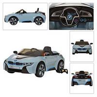 Детский электромобиль JE 168 R-4 голубой