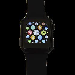 Умные часы Smart Life watch W58 (фитнес-браслет, смарт часы)(черные)
