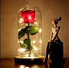 Стабилизированная РОЗА В КОЛБЕ С LED ПОДСВЕТКОЙ, ночник, вечная роза, 17 СМ Лучший подарок!, фото 5
