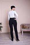 Женские брюки Марина черные, фото 3