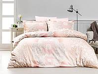 Постельное белье FIRST CHOICE Satin Cotton евро 'Lenka' (постельное белье евро сатин Турция)