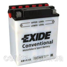 Мото аккумулятор EXIDE EB14-A2
