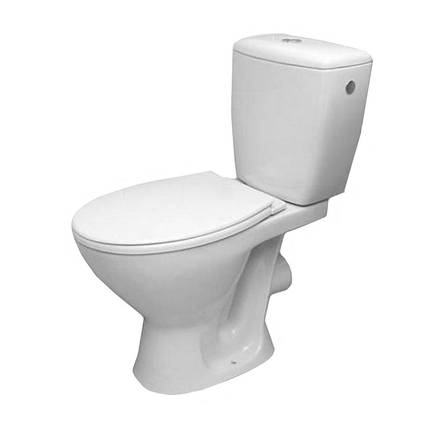 Унітаз Cersanit Koral 010 3,6 л з сидінням ППР, фото 2