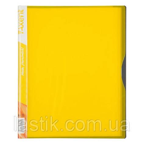 Дисплей-книга, 40 файлів, А4 (жовтий), фото 2