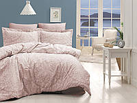 Постельное белье FIRST CHOICE Satin Cotton евро 'Vanessa Pudra' (постельное белье евро сатин Турция)