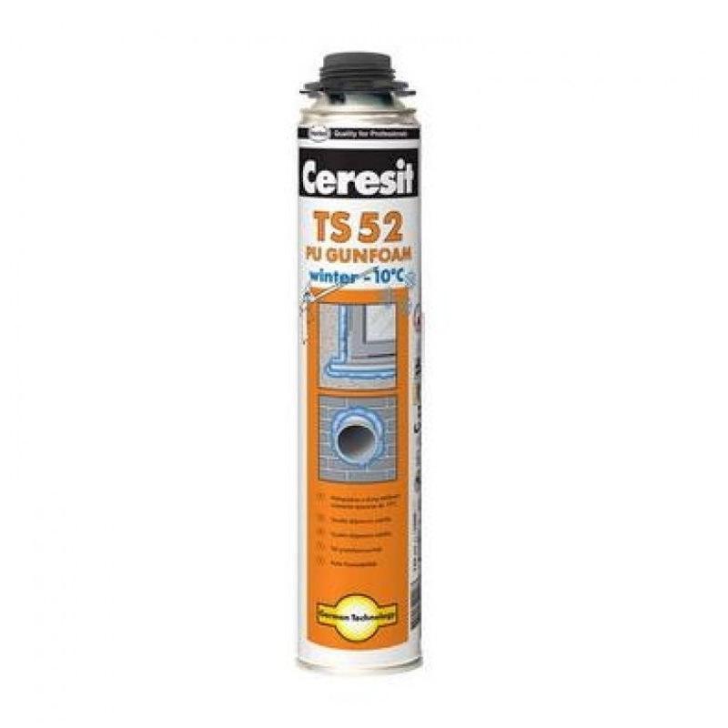 Пена монтажная Ceresit TS 52 зимняя профессиональная (750 мл)