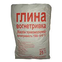 Глина огнеупорная (25 кг)