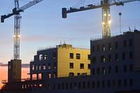 Коммерческое строительство, жилое строительство, реконструкция здания