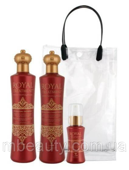 Chi Royal Treatment Hydrating Trio, Набор подарочный королевская увлажняющая серия (355мл/355мл/59мл)