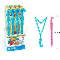 Мыльные пузыри 1098-1 меч, зонтик, 47,5 см, 16шт(4 цвета)