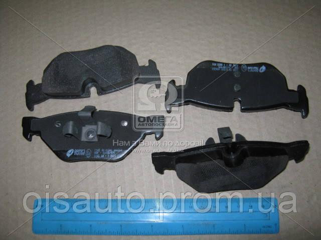Колодка торм. диск. BMW 3 (E90-91) 05- задн. (пр-во REMSA)