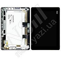 Дисплей ASUS ME302 Memo Pad с черным тачскрином и рамкой