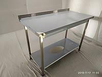Стол кухонный из нержавейки 1500х600х850