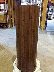 "В пределах отрезка,96 м.п. / Бамбуковые обои ""Венге"", 0,9 м, ширина планки 17 мм / Бамбукові шпалери"