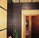 "В пределах отрезка,96 м.п. / Бамбуковые обои ""Венге"", 0,9 м, ширина планки 17 мм / Бамбукові шпалери, фото 7"