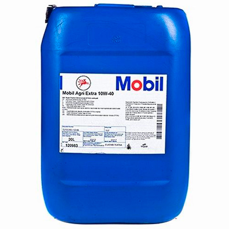 Масло моторное Mobil Agri Extra 10W-40, тара 20 л