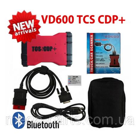 Автосканер VD600 TCS CDP + OBD2 NEK реле Bluetooth сканер диагностики авто мультимарочный cканер