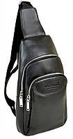 Кожаная сумка рюкзак Dr.Bond Мужской кожаный ранец Черный цвет Отличное качество Смотреть фото Код: КГА1267
