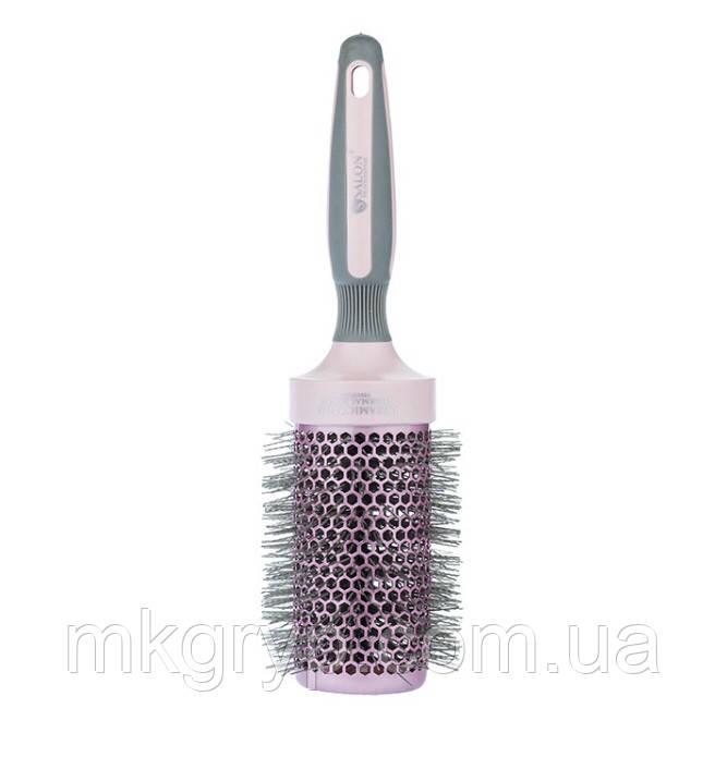 Купить Брашинг для волос Salon Professional Ceramic Ion Thermal Brush Pink 53мм