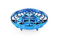 """Квадрокоптер ручной UFO Y1102 """"Летающая тарелка"""" с Led подсветкой (2_008387)"""
