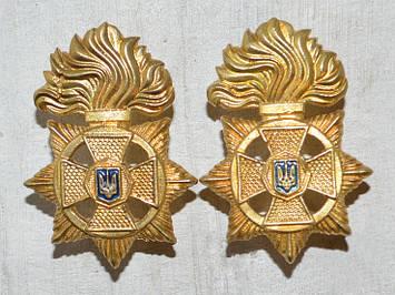 Эмблема, петлица НГУ металл золото нового образца