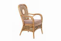 Кресло из натурального ротанга Aztec от производителя, кресло из ротанга, ротанговое кресло, мебель из ротанга
