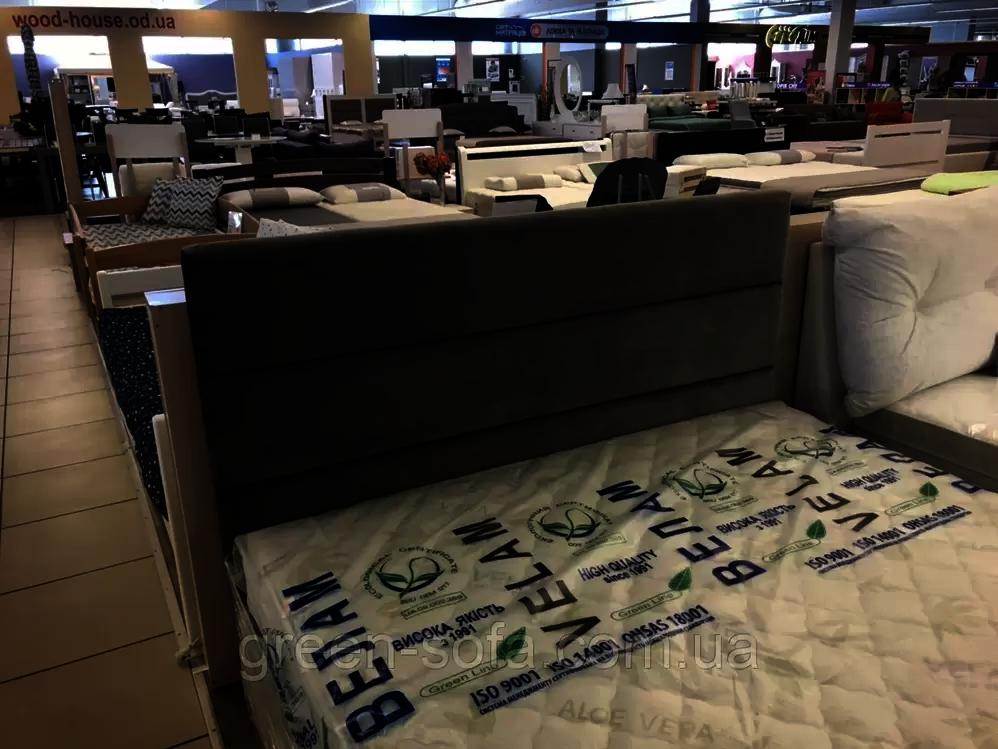 Кровать 160х200 (изголовье Верона) Грин Софа Глейд