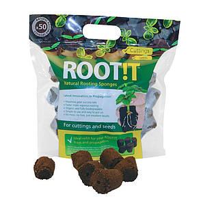 ROOT!T Natural Rooting Sponges - Натуральні спонж для пророщування (50шт в упаковці), фото 2