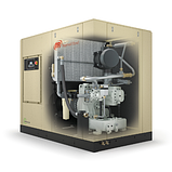 Гвинтовий компресор безмасляний модель S37-75 kW, фото 3