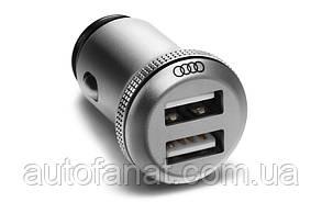 Оригинальное зарядное устройство Audi Dual Universal Car Charger (8X0051443)