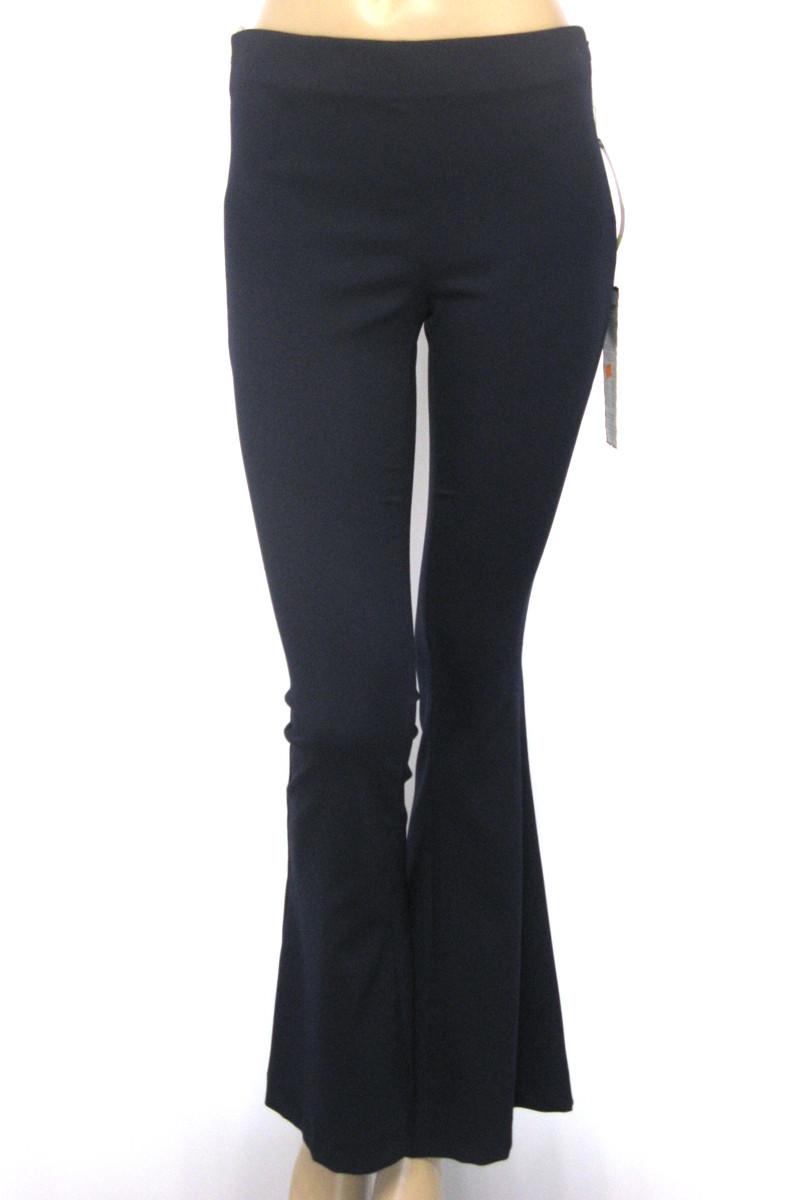 Жіночі штани кльош від коліна