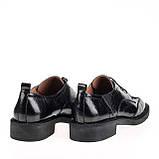 Женские натуральные туфли  Fabio Monelli B08603F-4894 BLACK KOGA весна 2020, фото 2