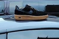 Мужские черные кроссовки Nike Air Force